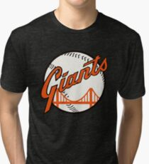 San Francisco Giants Tri-blend T-Shirt