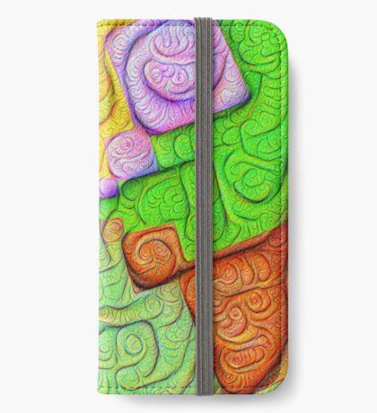 Asymmetry of color foam #DeepDream iPhone Wallet