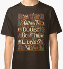 Go to the library Classic T-Shirt
