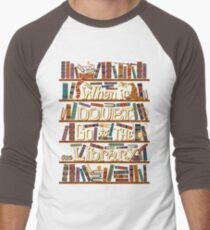 Go to the library Men's Baseball ¾ T-Shirt