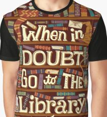 Go to the library Graphic T-Shirt
