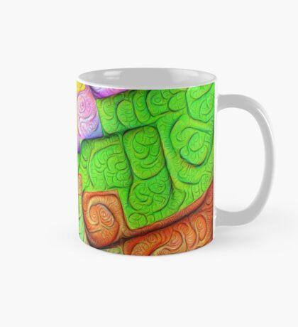 Asymmetry of color foam #DeepDream Mug