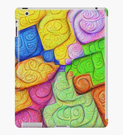 Asymmetry of color foam #DeepDream iPad Case/Skin