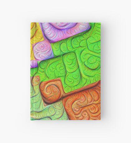 Asymmetry of color foam #DeepDream Hardcover Journal