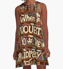 Go to the library A-Line Dress