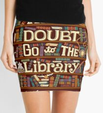 Go to the library Mini Skirt