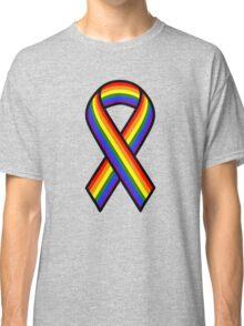 Rainbow Ribbon Classic T-Shirt