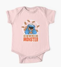 Cookie Monster One Piece - Short Sleeve