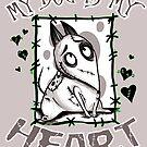 «Mi perro es mi corazón» de tonksiford