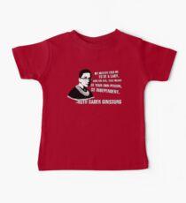 Revolutionary Women: Ruth Bader Ginsburg Baby Tee