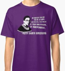 Revolutionary Women: Ruth Bader Ginsburg Classic T-Shirt
