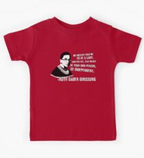 Revolutionary Women: Ruth Bader Ginsburg Kids Tee
