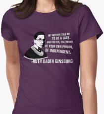 Revolutionary Women: Ruth Bader Ginsburg Women's Fitted T-Shirt