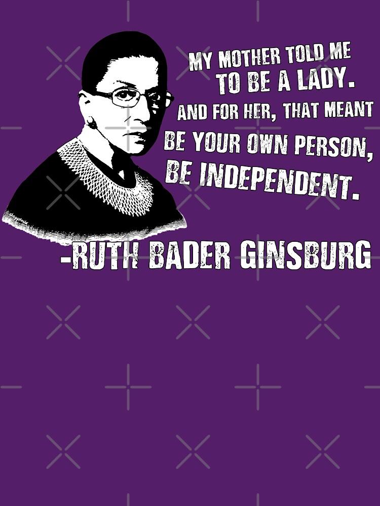 Revolutionäre Frauen: Ruth Bader Ginsburg von shaggylocks