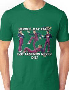 Robbie Rotten - Legends Never Die! Unisex T-Shirt
