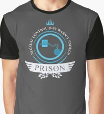 Magic the Gathering - Prison Life Graphic T-Shirt