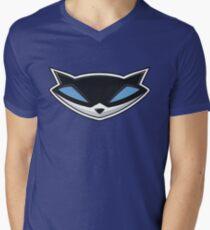 Sly Cooper Logo Men's V-Neck T-Shirt