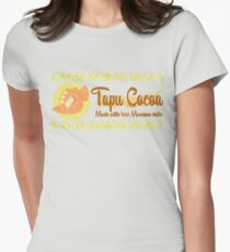 Tapu Cocoa - Distressed Logo 2 Womens Fitted T-Shirt