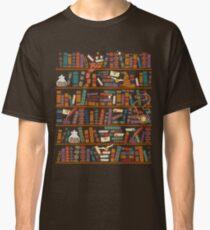 Bookshelf Classic T-Shirt