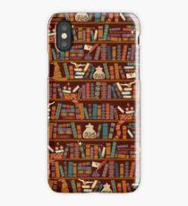 Bookshelf iPhone Case/Skin