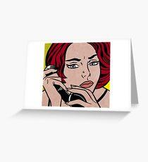 Lichtenstein Greeting Card
