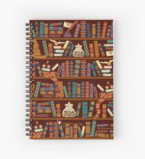Bookshelf Spiral Notebook