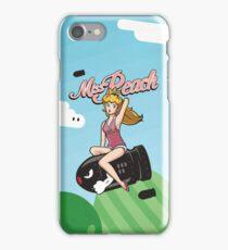 Miss Peach Pin-Up iPhone Case/Skin