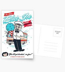 Mr. White's Blue Ice Postcards