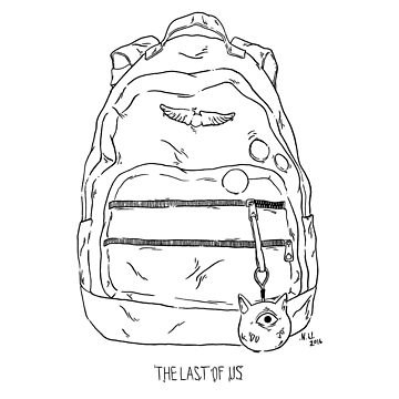 Ellie's Backpack (TLOU) by noauxia