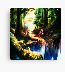 entertaining giver to peace Canvas Print