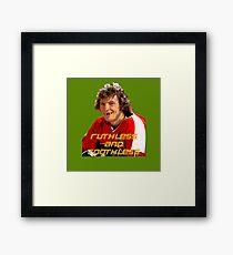 Bobby Clarke Ruthless and Toothless Framed Print