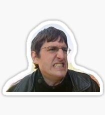 Louis Theroux Grimace Sticker