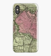 Map Of Lille 1708b iPhone Case/Skin
