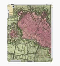 Map Of Lille 1708b iPad Case/Skin