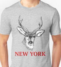 Dan Smith Stag Jumper Design T-Shirt