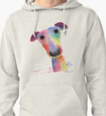 WHiPPeT GReYHouND DOG 'HANK' BY SHIRLEY MACARTHUR Pullover Hoodie