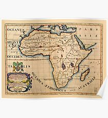 Map Of Africa 1700.1700 Posters Redbubble
