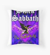 The Thrill of it All! Throw Pillow