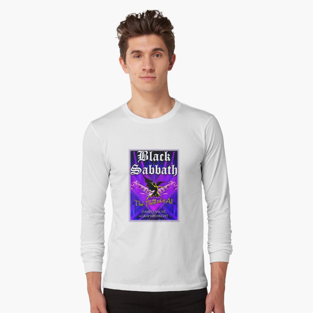 The Thrill of it All! Long Sleeve T-Shirt Front