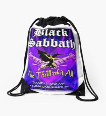 The Thrill of it All! Drawstring Bag
