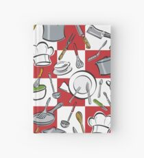 Kitchen Tools Checkerboard Hardcover Journal