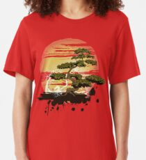 Bonsai Tree Karate Dojo Slim Fit T-Shirt