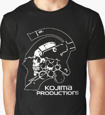 Kojima Productions HD Logo Graphic T-Shirt