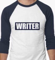 Castle's WRITER bullet proof vest Men's Baseball ¾ T-Shirt