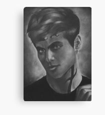 Alec Lightwood Season 2 photoshoot Canvas Print