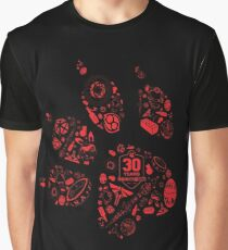Naughty Dog - 30th Paw Graphic T-Shirt