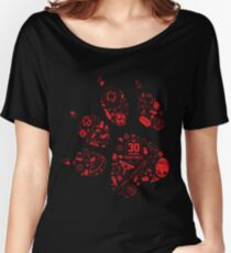 Naughty Dog - 30th Paw Women's Relaxed Fit T-Shirt