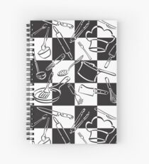 Kitchen Tools Check Spiral Notebook