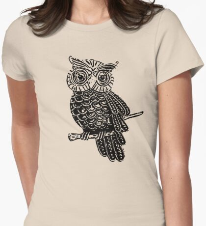 Cute Owl On Tree T-Shirt