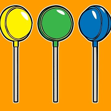What color is your lollipop / sucker / candy by goodedesign